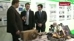 3D-Drucker mit Extruder selbst gebaut
